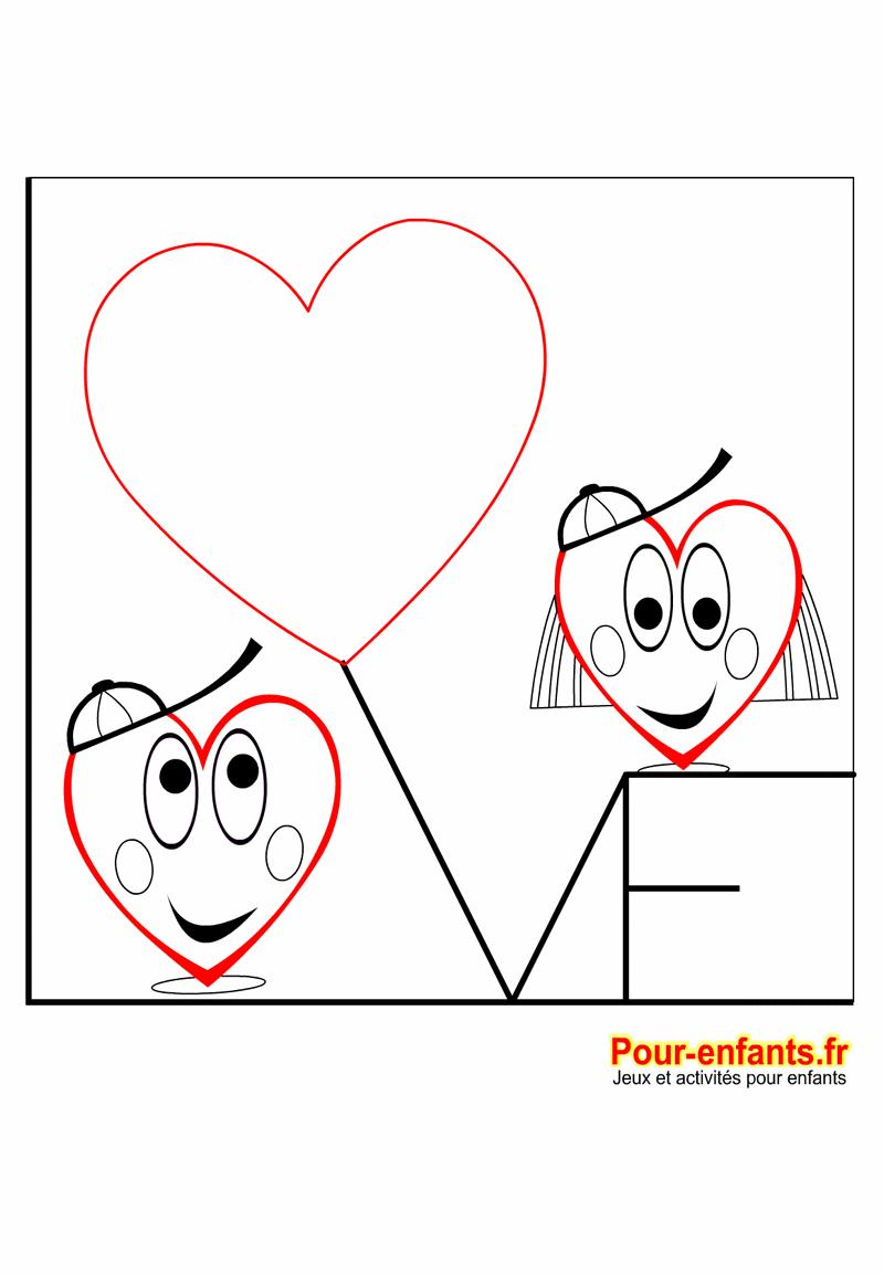 Coloriage Fête Des Mères Coeurs D Amour Fete Des Meres
