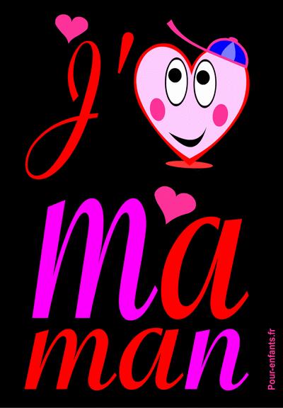 La fête des mères dessins de coeurs � imprimer
